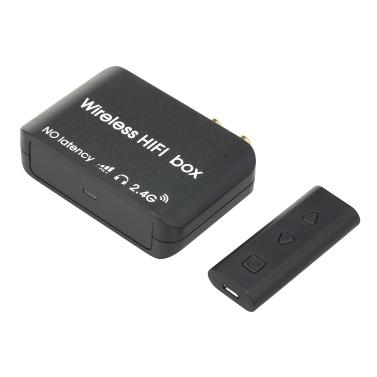 AY87 Audio Transmitter Receiver 2.4G Wireless HIFI Audio Converter No Latency Audio Transceiver Adapter