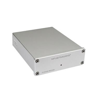 FX-AUDIO BOX-02 Hi-Fi Mini MM&MC Audio Amplifier for Record Player Home Cinema