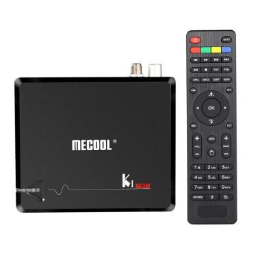 MECOOL KI PRO Android 7.1 TV BOX + DVB-S2 i DVB-T2 i DVB C odbiornik telewizyjny w UE wtyczka