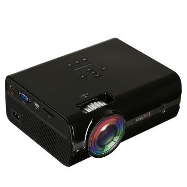 $6 OFF Uhappy U45 Zoom LED Projector,free shipping $85.99(Code:UHAPPY6)