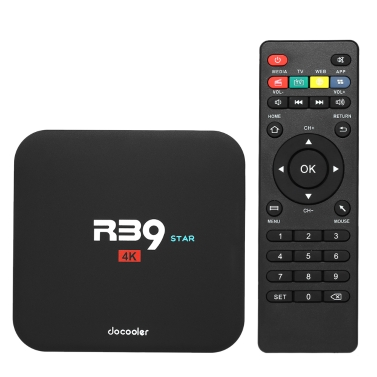40% OFF Docooler R39 STAR Android TV Box,limited offer $28.99