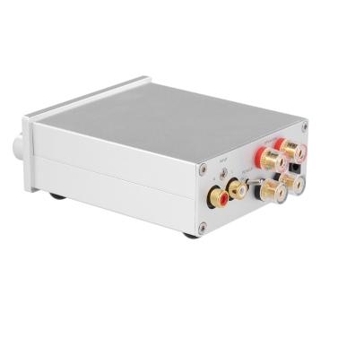 NIKKODO NK-368R Digitaler Audio-Leistungsverstärker Bluetooth 4.0 Mini-HiFi-Audioempfänger Amp Dual Channel 50W + 50W mit Netzteil