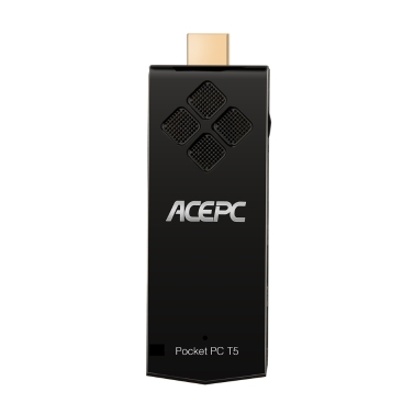ACEPC W5 Pro Pocket Mini PC Stick Unterstützung für Windows 10 Intel Z8350 64 Bit 2 GB / 32 GB Bluetooth WiFi Smart Media Player EU-Stecker