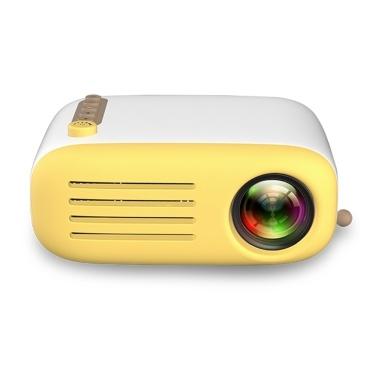 YG200 Mini LCD Projektor Heimkino 1080P 1300mAh Batterie
