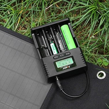 Soshine Universal Intelligent Battery Charger 4 Slots LCD Display for Li-ion LiFePO4 Ni-MH Ni-Cd Battery