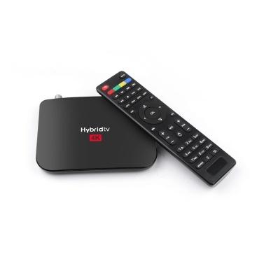 Récepteur TV MECOOL M8S DVB-S / S2 / S2X Android 9.0 2 Go de RAM 16 Go ROM HD 1080P Décodeur Récepteur de diffusion vidéo numérique Support 2.4G WiFi