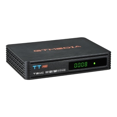 GTMEDIA TT PRO DVB-T / T2 / C Set-Top-Box Signalempfänger Fernbedienung H.265 Full HD 1080P TV-Empfänger