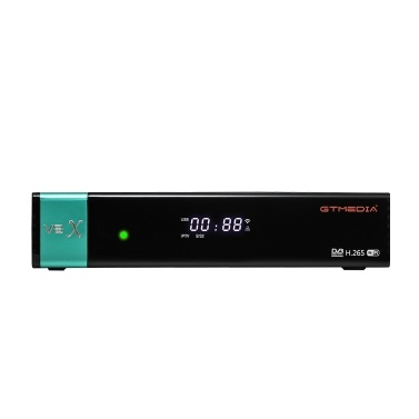 GTMEDIA V8X DVB-S / S2 / S2X FTA Digitaler Signalempfänger Set-Top-Box Full HD 1080P Fernbedienung Eingebautes WiFi H.265 V8 Nova Upgrade