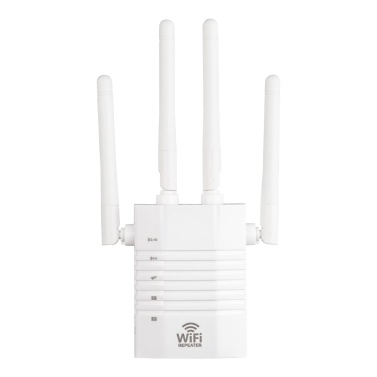 WD-R1205U 1200Mbps WiFi Booster Wireless Repeater Dual Band Wifi Repeater Four Antennas 2.4GHz 5GHz 1200M WiFi Internet Signal Amplifier