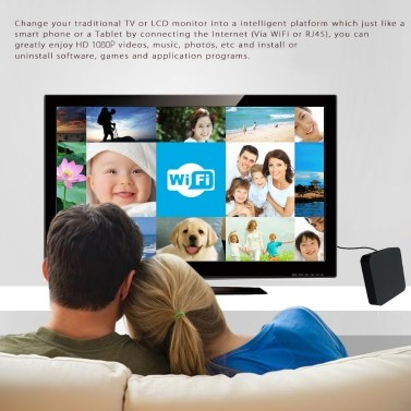 Smart TV Player Android 4.4 Quad Core 1G/8G Euro Regulation