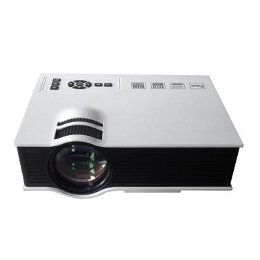 Tragbarer UC40 LED-Projektor mit Fernbedienung