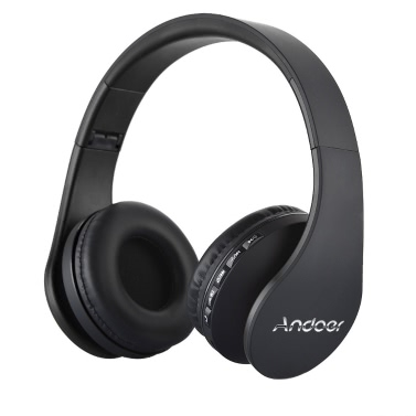 Andoer LH-811 4 in 1 Wireless BT EDR Headset with Mic