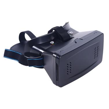 """Andoer® Tragbarer Kopfangebrachte Google Pappkarton Variante 3DVRBrille Virtuelle Realität DIY 3D VR Video mit Magnetschalter Film Spiel 3D Brillen mit CSY-01Mini Multifunktionale Drahtloser BT V3.0 Selfie Kameraauslöser Gamepad für iPhone Samsung / alle 3,5 ~ 6,0"""" Smart Phones"""