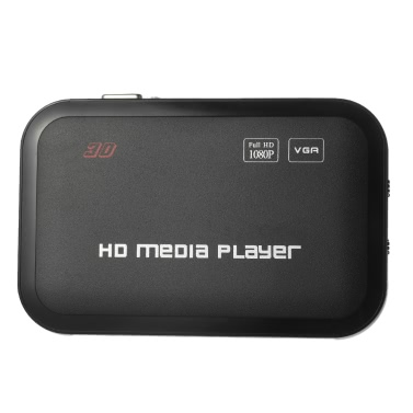 Buy Full HD 1080P Media Player Center RM/RMVB/AVI/MPEG Multi Video YPbPr VGA AV USB SD/MMC Port Remote Control