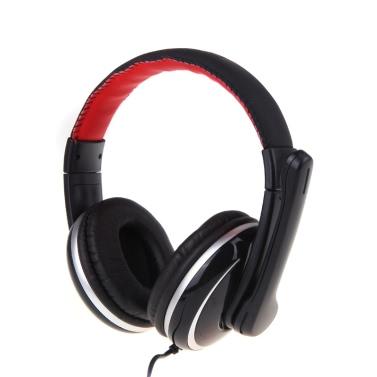 OVLENG OV-Q6 USB Stereo Kopfhörer Headset Mikrofon Mic für Laptop PC Computer