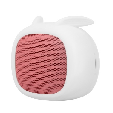 Smalody Mini Bluetooth Speaker Portable Sound Box Cute Rabbit Speakers with Microphone TF Slot for iPhone Samsung Smart Phone