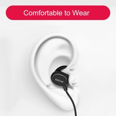 QCY QY19 Kabelloser In-Ear-Kopfhörer Stereo-Musik-Ohrhörer Sport-Headset BT5.0 Wasserdicht und schweißfest mit Mikrofon