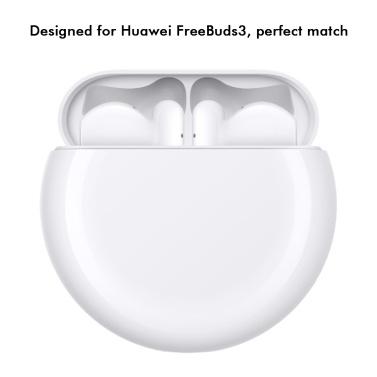 Silikon-Kopfhörer-Fall Stoßfeste Abdeckung Headset Shell Dick und langlebig Geeignet für Huawei FreeBuds3