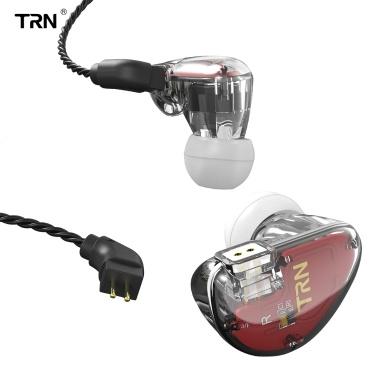 TRN V30 Kopfhörer 0,75 mm 2-poliger kabelgebundener In-Ear-Headset 3,5 mm Klinkenkopfhörer-Ohrhörer für MP3-Smartphones