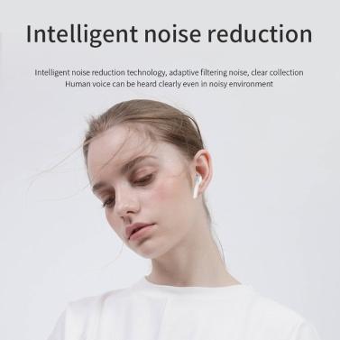 Bluetooth 5.0 True Wireless-Ohrhörer mit Ladekoffer TWS Earphones Sports Headset Rauschunterdrückung Automatisches Pairing Schnelles Laden