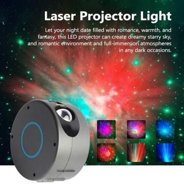 USB Romantic LED Starry Night Nebula Lamp 3D Star Projector Light for Kids Bedroom Projection Home Planetarium
