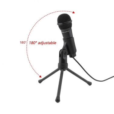 Sf-910 Multifunctional 3.5mm Microphone Portable Broadcasting Condenser Microphone