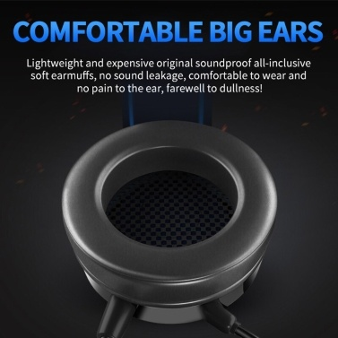 G60 Stereo Gaming Headset Surround Bass Over-ear Gaming Earphone