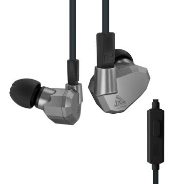 KZ ZS5 3.5mm verdrahtet in den Ohr-Kopfhörern mit Mikrofon