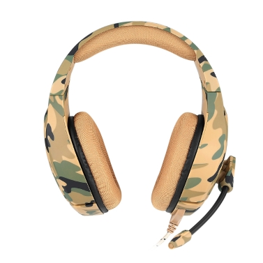 38% OFF ONIKUMA K1 3.5mm Camouflage Gaming Headset with Mic,limited offer $17.49