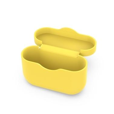 Silikon-Schutzhülle Kompatibel mit Sony WF-1000XM3 Kabelloser Kopfhörer-Etui Stoßfeste, kratzfeste Schutzhülle