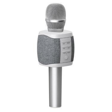 TOSING 027 Wireless Karaoke Microphone Bluetooth Speaker 2-in-1 Handheld Singing & Recording Portable KTV Player for Phone PC Tablet