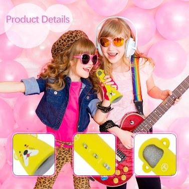 TOSINGX3 Wireless Bluetooth Karaoke Microphone for Kids Birthday Gifts for Girl Teens Boys Bluetooth Child Karaoke Machine