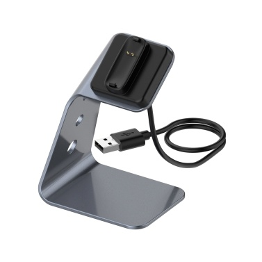 Charger Stand USB Charging Cable Dock Compatible with Fitbit Versa 2/Fitbit Versa 2 SE Smart Watch Base Holder Fitness Smartwatch Accessories