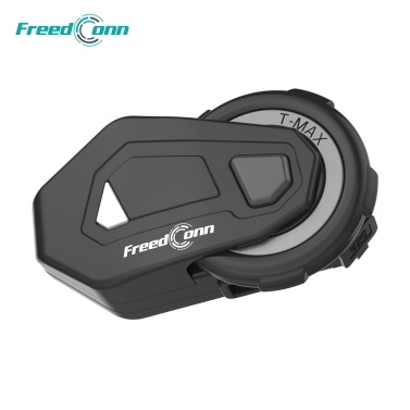 FreedConn T MAX Motorcycle Helmet Headset Bluetooth 5.0 Motorcycle Headphones Coupon Code and price! - $45.99