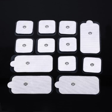12pcs Electrode Pads Tens Massage Pad for Digital Therapy Machine Physiotherapy Pad Muscle Relax Electronic Pad