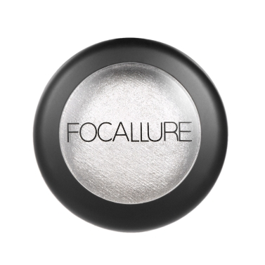 FOCALLURE 1Pc Baked Eyeshadow Palette Women Cosmetic Neutral Warm Eye Shadow Palette Eye   Makeup Palette