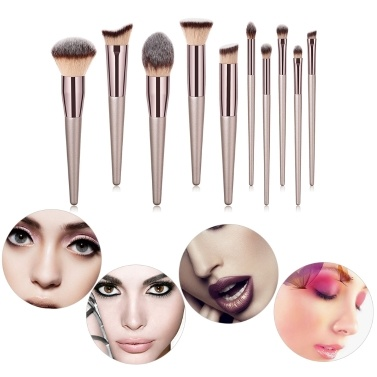 GUJHUI Proofessional Make-up Pinsel Gesichts Make-Up Pinsel Kosmetik Pinsel Multifunktionale Augenbraue Blush Foundation Puderpinsel Schönheit Werkzeuge