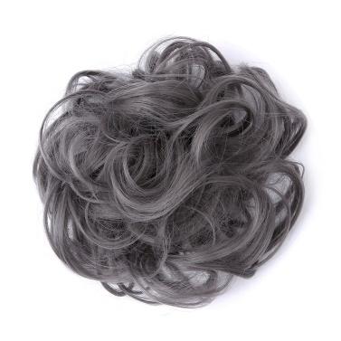 1Pcs Pony Tail Hair Extension Brötchen Haarnadel Perücke