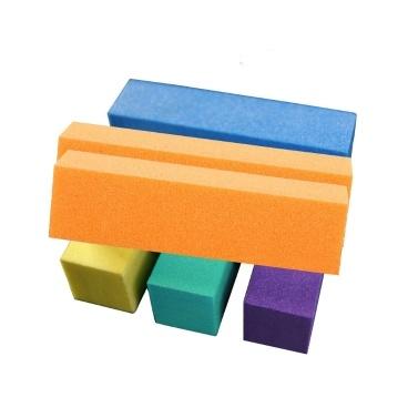 10 Stück Nagelpuffer Block Schleifschwamm Nagelpuffer Dateien Maniküre Pediküre Schleifen Polieren