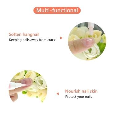 5PCS Cuticle & Nail Oil Pen Set Mixed Flavors Cuticle Repairing Oil Pen Nail Art Treatment Tools