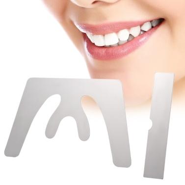 Dental Okklusal Maxillary Edelstahl Autoklavierbar Casting Kiefer Ebene