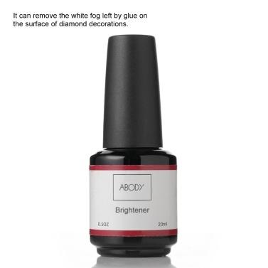 Abody Nail Diamond Brightening Agent Diamond Glue Polishing Agent Rhinestone Cleaner 20ml