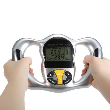 Schermo LCD digitale portatile monitor del grasso corporeo Salute Analyzer BMI tester grasso corporeo Meter di misura uso domestico