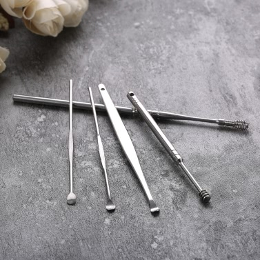 Stainless Steel Ear Spoon