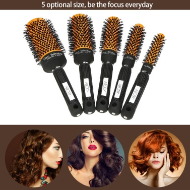 Abody  DIY Hairstyle Massager Hairbrush Curly