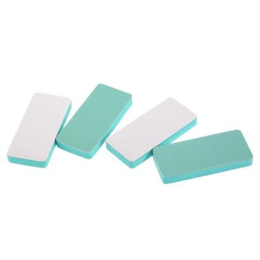 4pcs Nagelfeilen 2-Wege-Block-Puffer-Nagel-Kunst Shiner Kit Pediküre Maniküre Buffing Nagelpolierwerkzeuge Salon Datei-Set