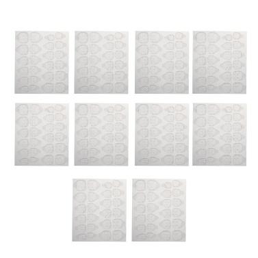 240pcs Nail Adhesive Glue Tapes Nail Tabs