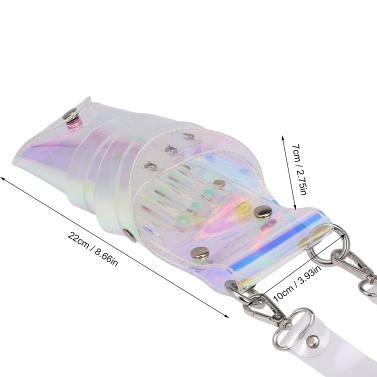 Transparente Scherentasche Salon Friseurwerkzeuge Taschen Scherentasche