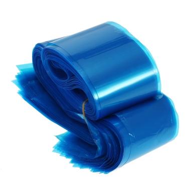 100Pcs Clip Cord-Hülsen-Beutel Einweg-Abdeckungen für Tattoo-Maschine Kunststoff blau