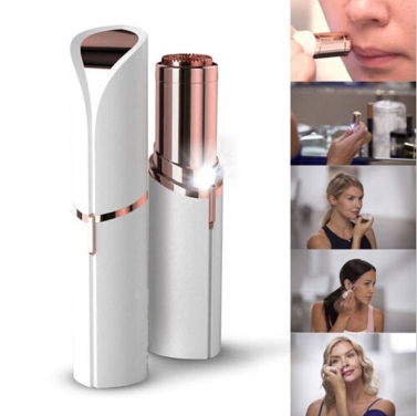 Electric Facial Hair Remover Shaver Personal Face Care Mini Painless Women Beauty Tools